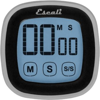Escali Touch Screen LCD Display Digital Timer