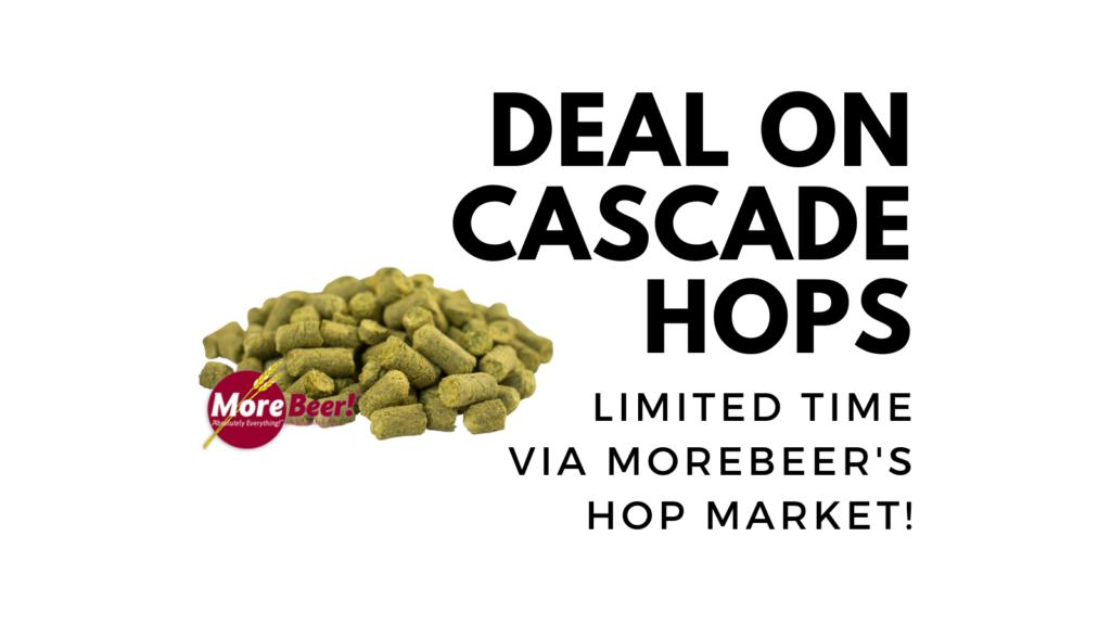 cascade hop deal