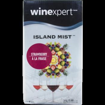 Winexpert Island Mist Strawberry White Merlot Wine Recipe Kit