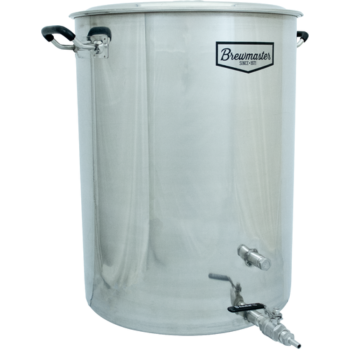 25 Gallon Brewmaster Stainless Steel Brew Kettle BE306
