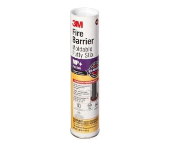3M Fire Barrier Moldable Putty Stix MP+, Red, 1.45 in x 6 in