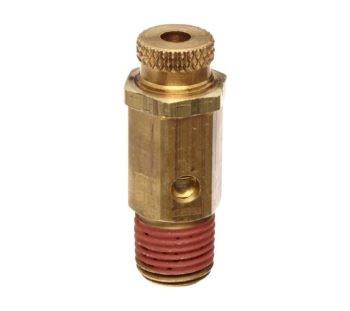 "Control Devices-NC25-1UK002 NC Series Brass Non-Code Safety Valve, 25-200 psi Adjustable Pressure Range, 1/4"" Male NPT"