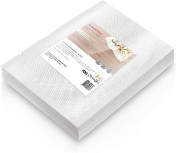 "Heavy Duty Vacuum Sealer Bags For Food, 50 Pint 6""x 10"" Food Saver Bag for FoodSaver, Seal a Meal, Geryon Vacuum Machine, Commercial Grade, BPA Free Vacuum Seal Bag Perfect for Sous Vide"