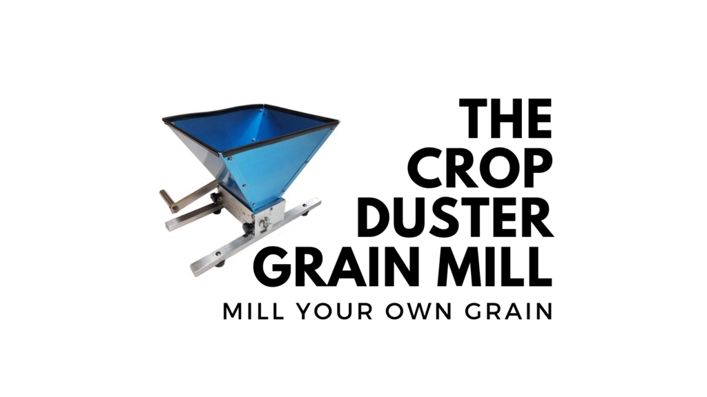 crop duster grain mill homebrewing.org
