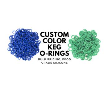 color coded keg orings