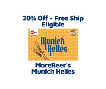 Munich Helles by Jonathan Plise (All Grain Kit)