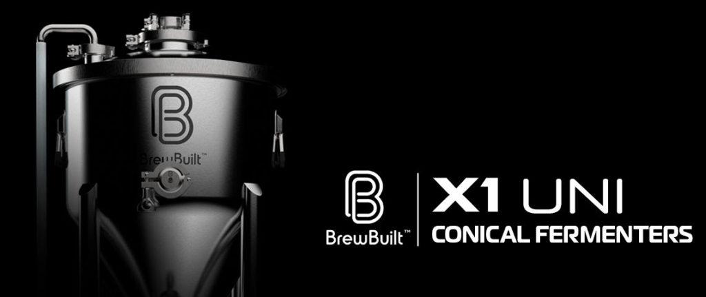 BrewBuilt™ X1 Uni Conical Fermenters!