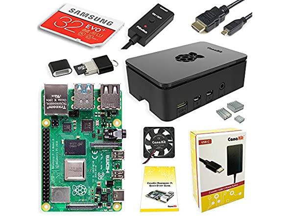 Canakit Raspberry Pi Kits