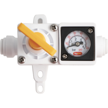 Duotight In-Line Regulator with Gauge D1047