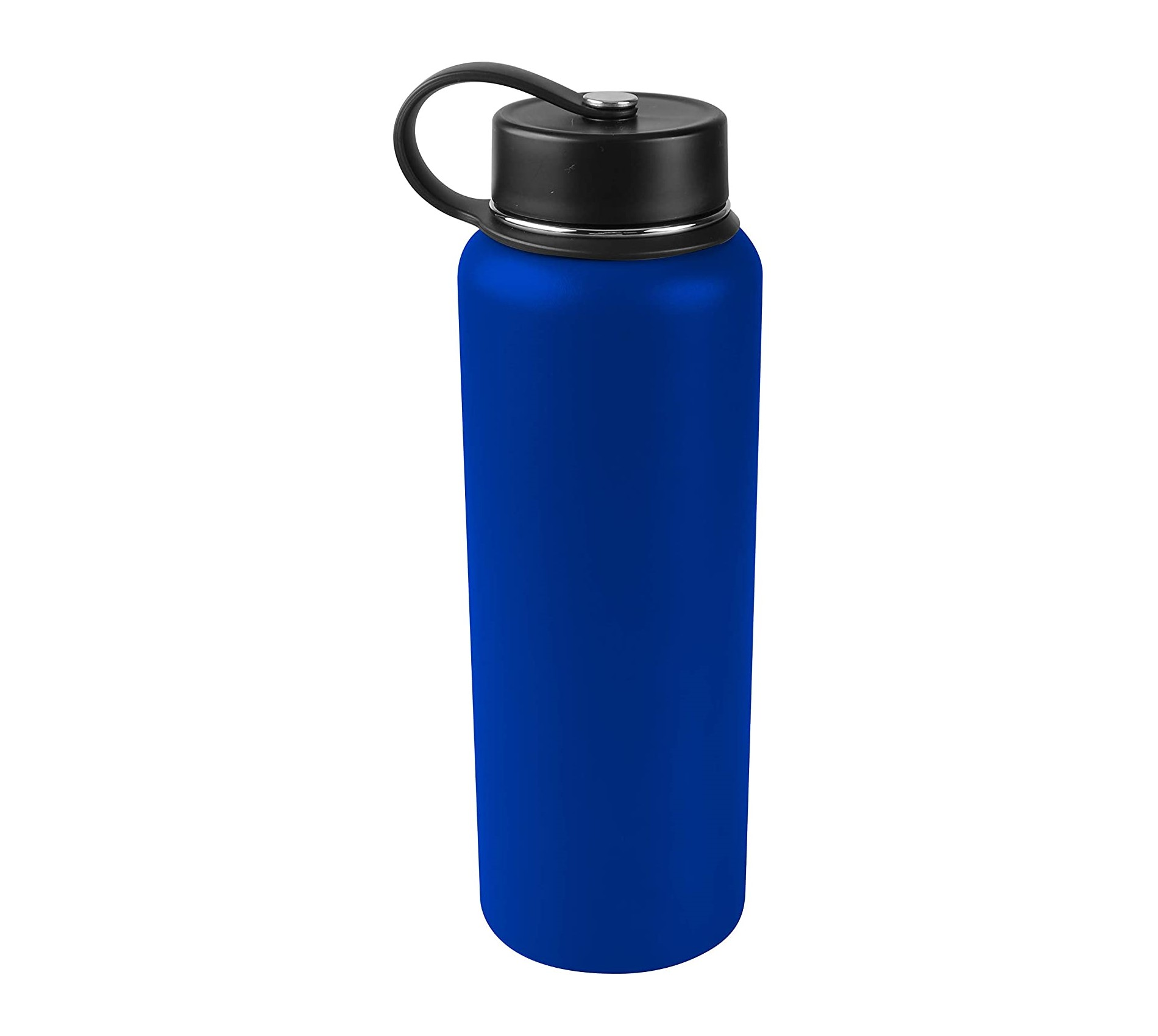 Tahoe Trails 40 oz Double Wall Vacuum Insulated Stainless Steel Water Bottle, Spectrum Blue
