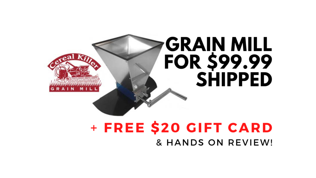 cereal killer grain mill deal