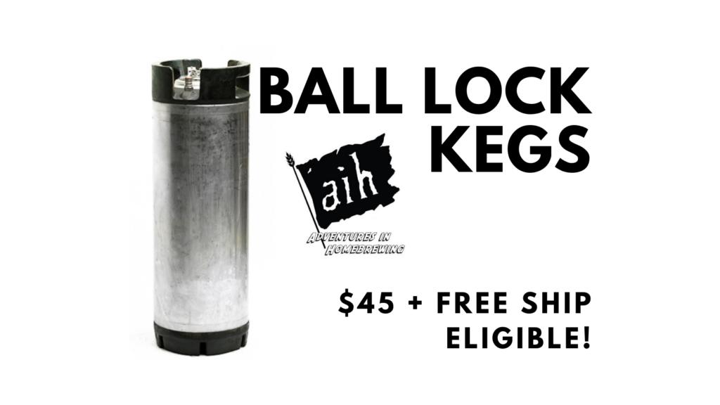 ball lock keg deal