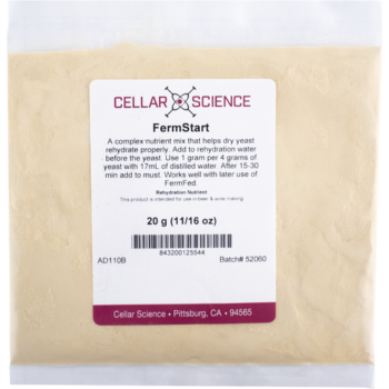 FermStart Yeast Rehydration Nutrient