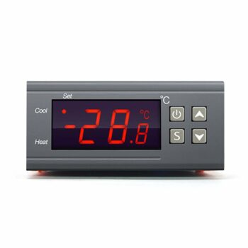 STC-1000 Digital Temperature Controller Digital LED Display DC 110V-220V 10A Celsius Heating Cooling Centigrade Thermostat Sensor 2 Relay Output with NTC 10K Thermistor Sensors Temperature Probe