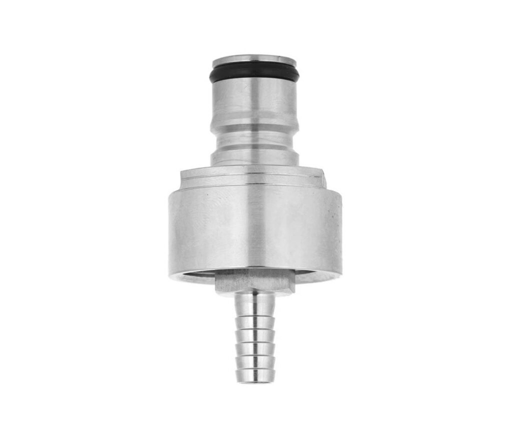 Yosoo Stainless Steel Carbonation Cap Home Brew Beer Fast Soda Made Counter Pressure Bottle Filling Fit Most Soft Drink PET Bottles