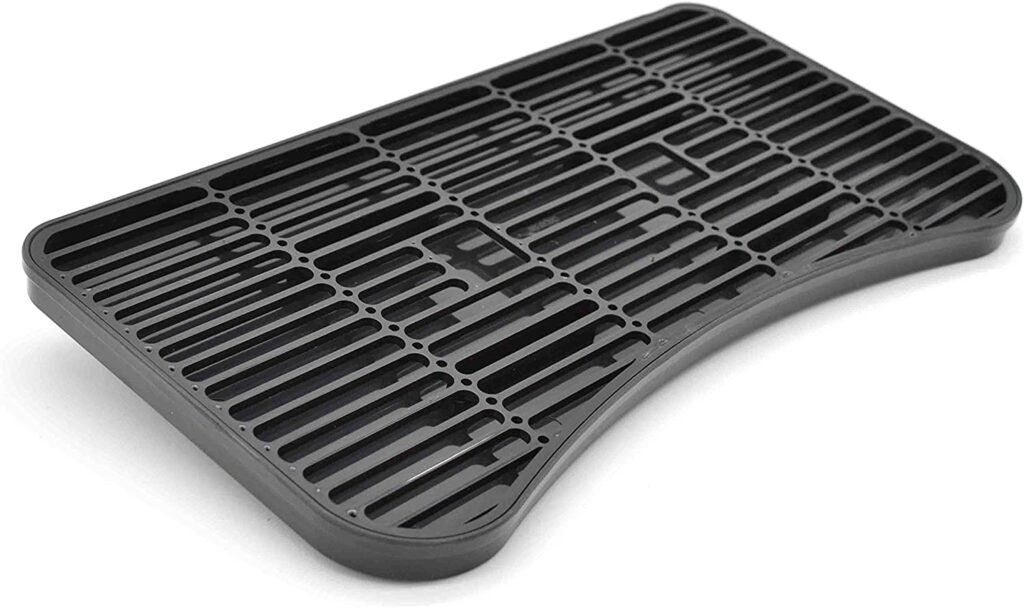 "K&B Surface Mount Drip Tray - Variations (Plastic Kegerator Top Surface Mount Drip Tray, 12"" x 6.5"")"