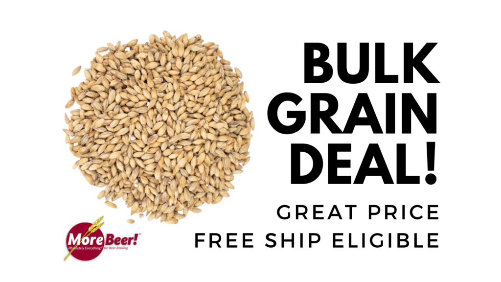 homebrew bulk malt deal