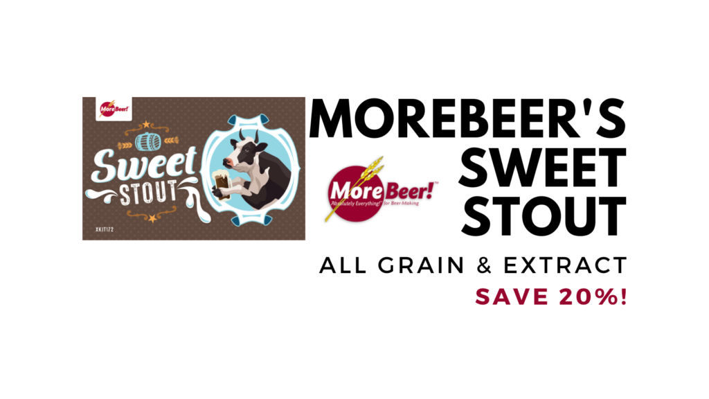 morebeer sweet stout homebrew kit