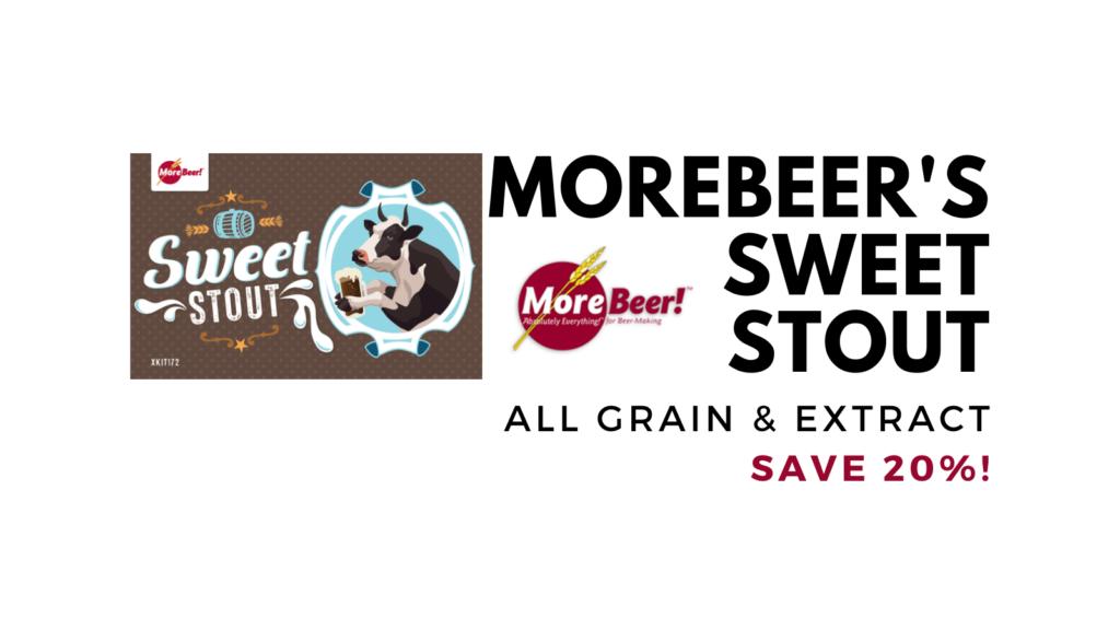 morebeer sweet stout homebrew kit