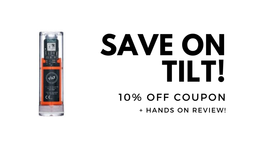 tilt blueetooth coupon