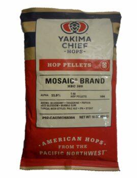 YCH Hops - 2003B - Mosaic HBC 369 Hop Pellets, 16 Ounce