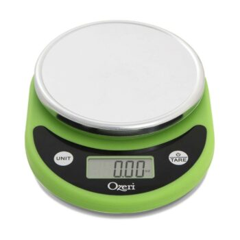 Ozeri Pronto Digital Multifunction Kitchen and Food Scale, Compact