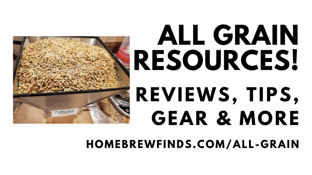 all grain homebrewing