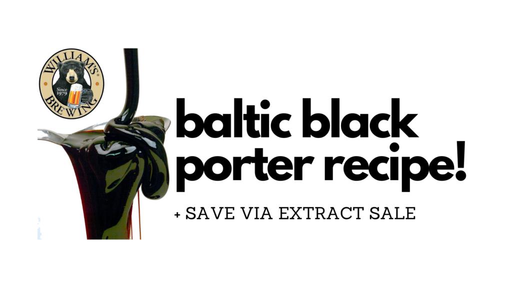baltic black porter recipe