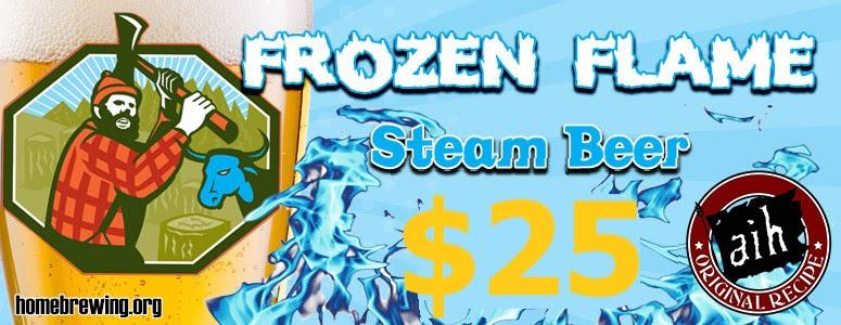 frozen flame steam beer