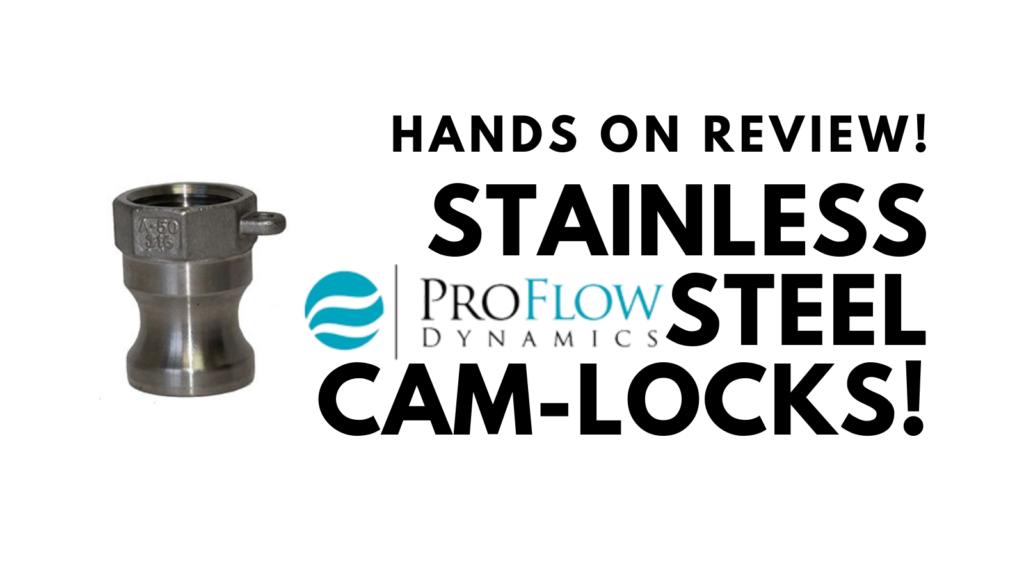 proflowdynamics homebrew camlock review