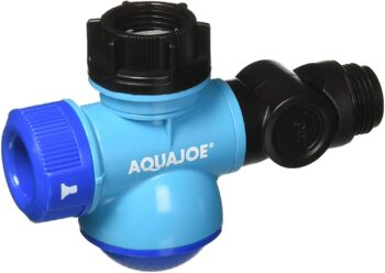 Aqua Joe SJI-MFGA1 Multi-Function Outdoor Faucet and Garden Hose Tap Connector