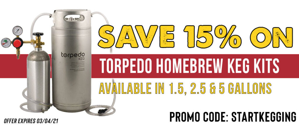 torpedo kegging system deal