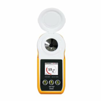 Brix Refractometer, Brix Meter Refractometer, Korean Technology Combined as OEM,Sugar Tester for Fruits & Wines,The Measurement Range is 0~50%, Digital Refractometer for Farmers &
