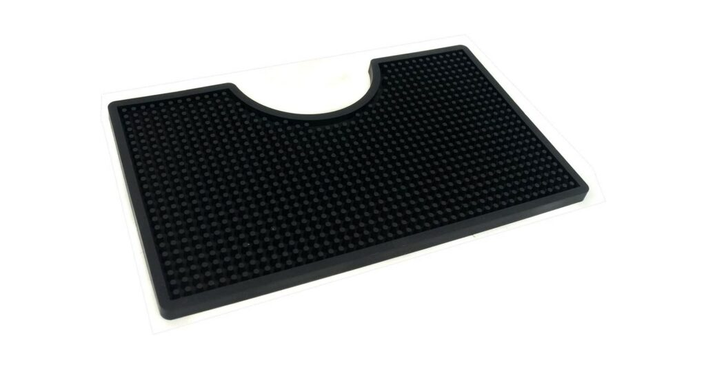 12×7 inches PVC Drip Tray for Home Brewing, Kegerator
