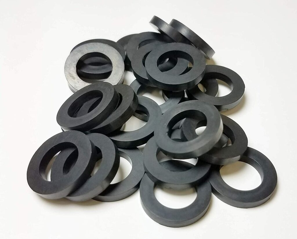 JET Home Brewing Supply Brand 25-Pack EPDM Beer Line Coupling Washe