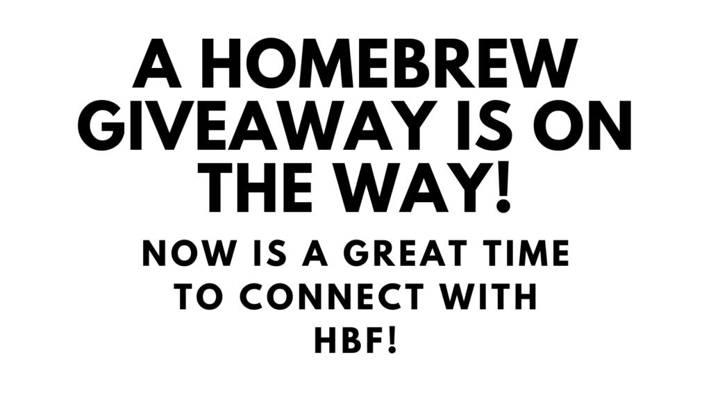 homebrew giveaway