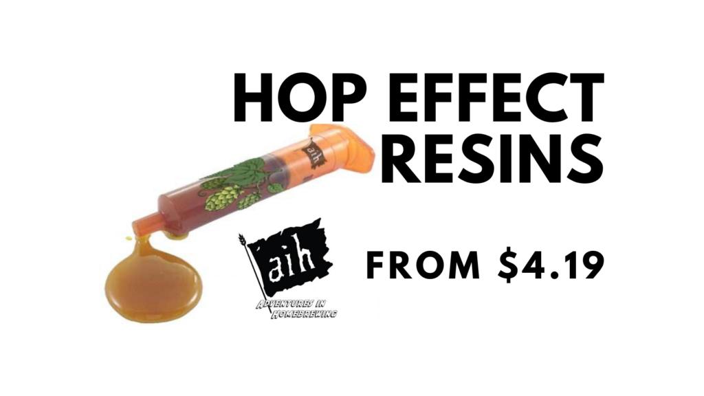 hop effect resins