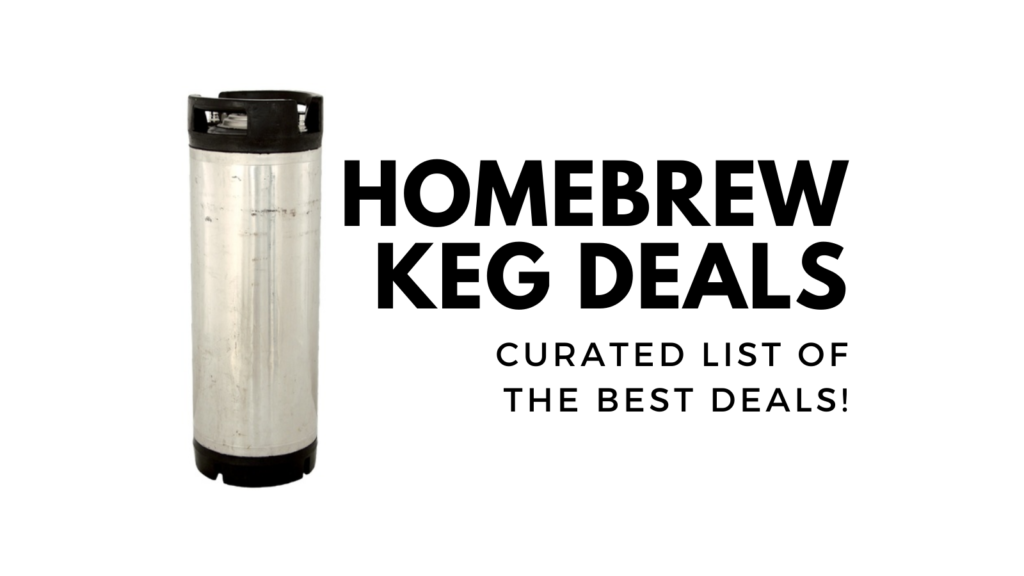 homebrewing keg deals