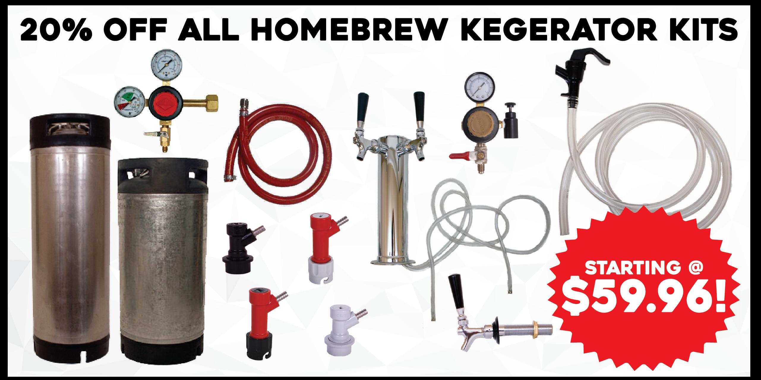 kegging system deal