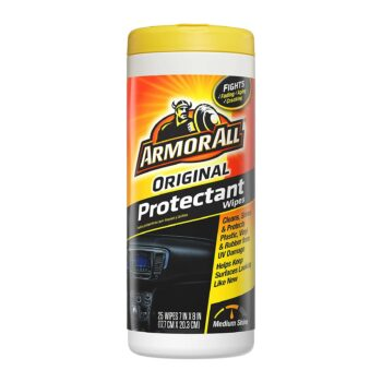 Armor All-10861 Original Protectant Wipes Old Style (25 Count)