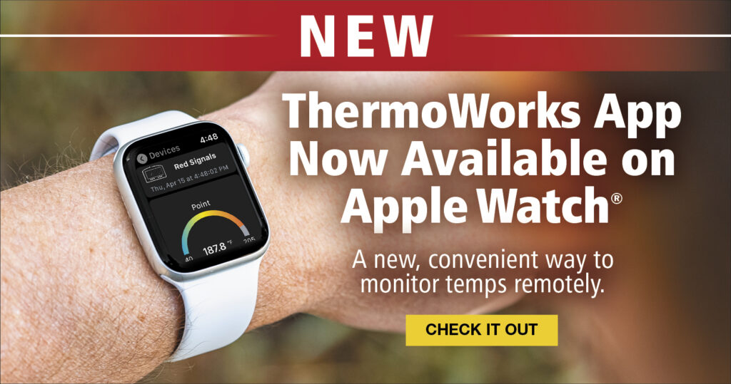 THERMOWORKS iphone watch app