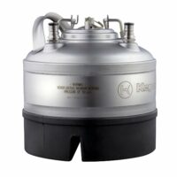 NSF APPROVED 1 GALLON BALL LOCK KEG WITH STRAP HANDLE