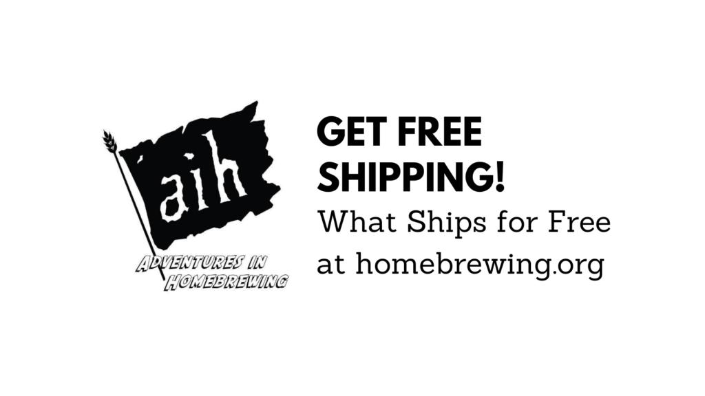 homebrewing.org free shipping coupon