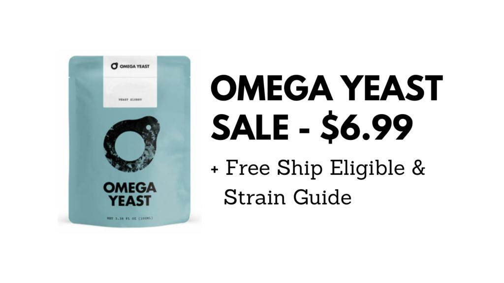omega yeast sale