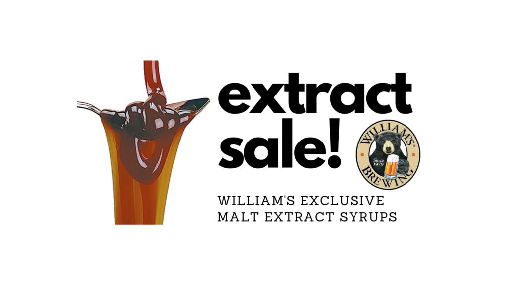 williams malt extract sale
