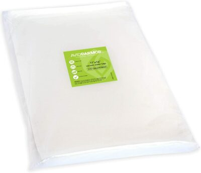 """Avid Armor Vacuum Sealer Bags 100 Gallon 11""""x16"""" for Food Saver, Seal a Meal Vac Sealers BPA Free, Heavy Duty Commercial Grade, Mea Prep and Sous Vide Vaccume Safe, Universal Design Pre-Cut Bag"""