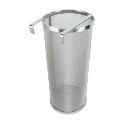 """YaeBrew 6 X 14 Inch Hop Spider 300 Micron Mesh Stainless Steel Hop Filter Strainer Hopper for Home Brewing Beer Tea Kettle (6""""X14"""")"""