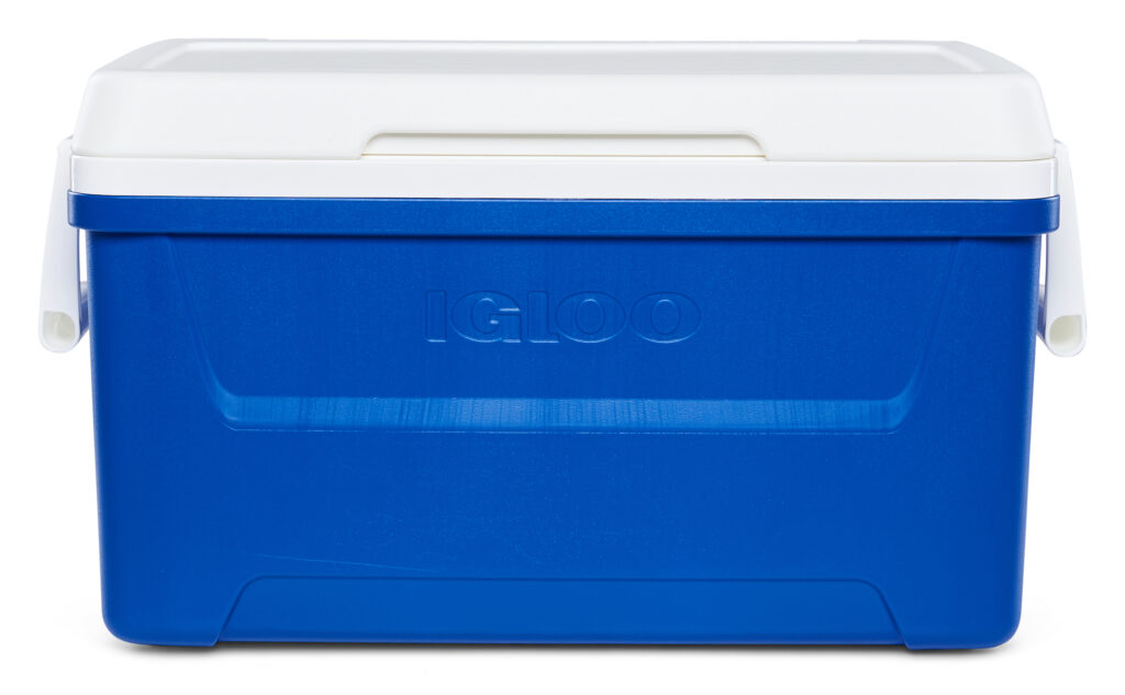Igloo 48-Quart Laguna Ice Chest Cooler - Blue