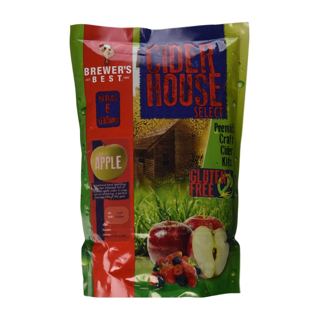 Home Brew Ohio Brewer's Best Cider House Select Apple Cider Kit