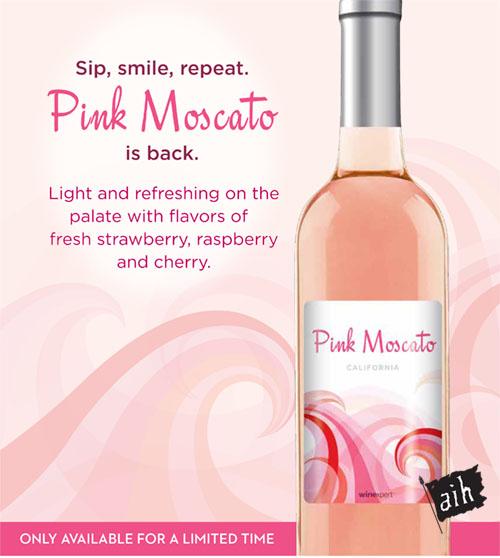 Winexpert Classic Pink Moscato Wine Making kit